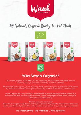 Waah Organics Sell-sheet