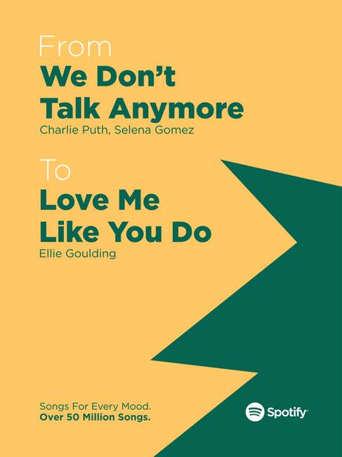 Spotify Premium Ad Campaign