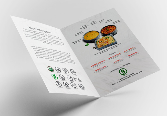 Waah Organincs Brochure