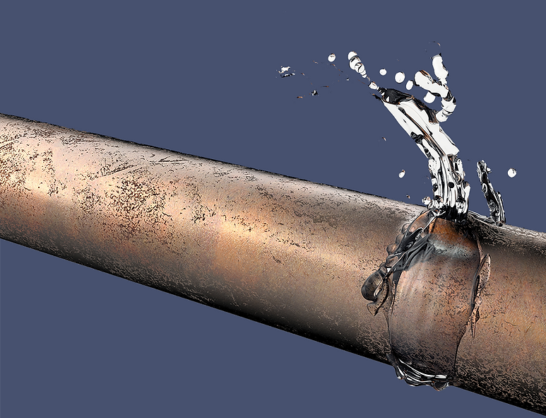 Busted pipe