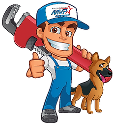 MVP Rooter man with dog