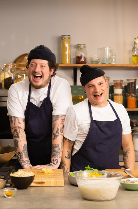 Job & Perry Client: 24 Kitchen - Wat Eten We Vandaag TV show Photographer: Rosie Beare Produced by Scrambled