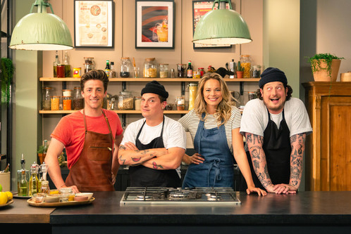 Client: 24 Kitchen - Wat Eten We Vandaag TV show Photographer: Rosie Beare Produced by Scrambled