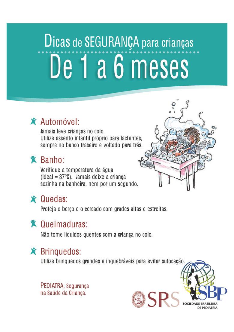 prevenindo acidentes com queimaduras, quedas, banhos, brinquedos e automóveis