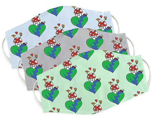 Earth Love Kids Face-masks