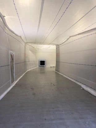 Interior Protection Dust Containments, dust and debris containments