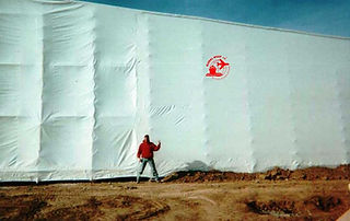 Temporary Curtain Walls- FleX Walls, Global Wrap