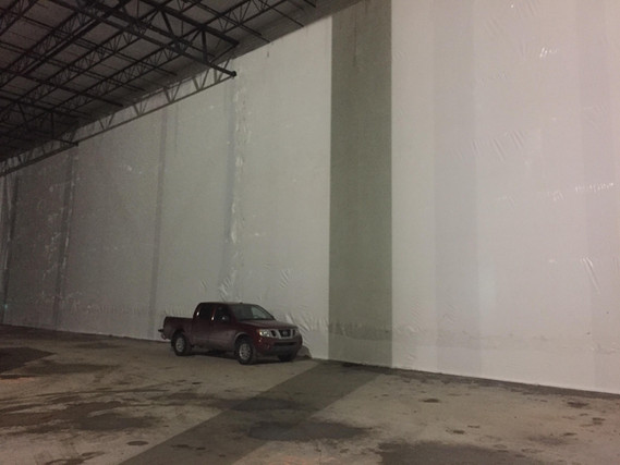 temporary curtain walls