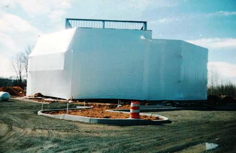temporary building - Shelter