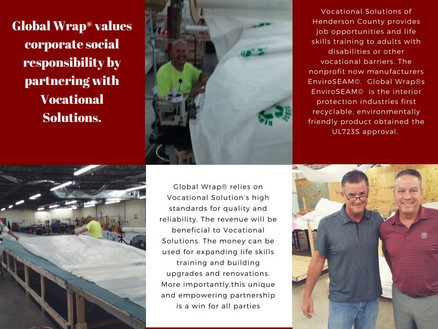 Global Wrap Values Corporate Social Responsibility