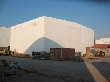 temporary building