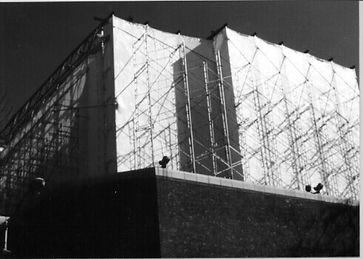 shrink wrap scaffoldings