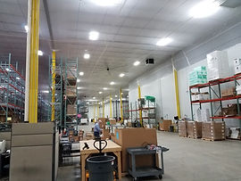interior protection for dust and debris containments, Temporary Suspended Ceilings, Interior protection ceilings