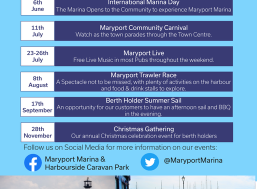 Events at Maryport Marina