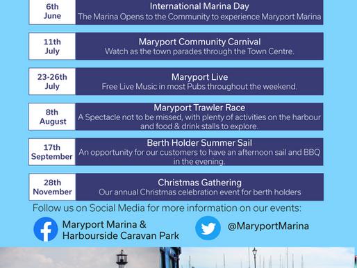 Events at Maryport Marina