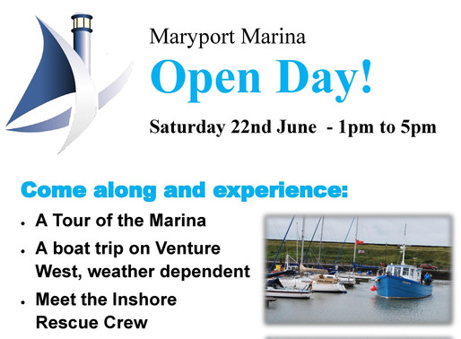 Marina Open Day Invitation!
