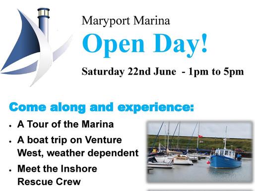 Marina Open Day Invitation!