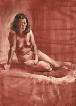 Woman body portrait