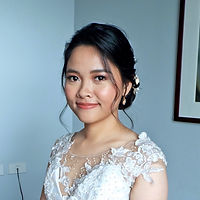 Bridal glow of bride Rizal based makeup artist