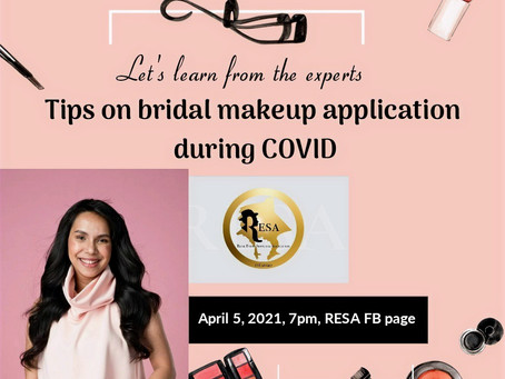 Tips on Bridal Makeup During COVID 19.