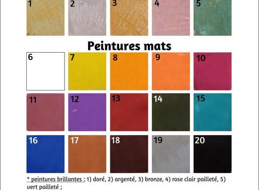 Peinture à l'eau aux pigments