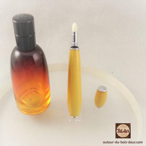 Applicateur de parfum en Buis (Bois Européen TF) Plaquage Chrome
