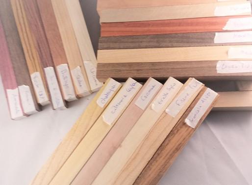 Catégories de bois et Matières