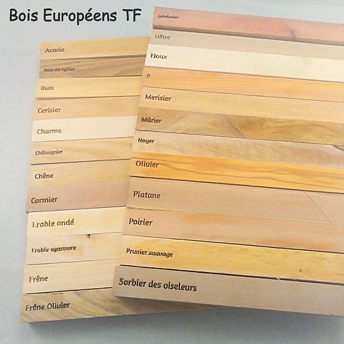 Bois Européen TF pour Produit personnalisé
