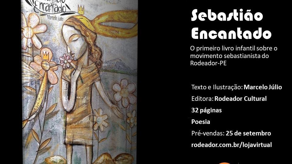 Livro infantojuvenil Sebastião Encantado