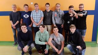Das neue Team des WII-Kurses Medien