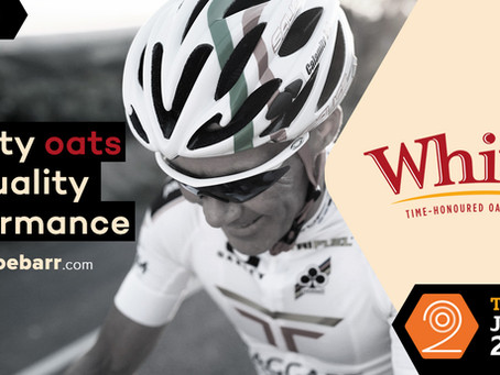 A hearty welcome to White's Oats - Title Sponsor of the Team Joe Barr 200