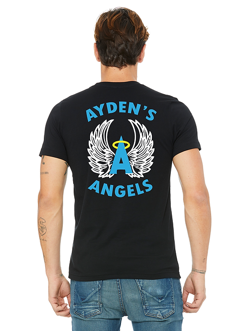 AYDEN'S ANGELS T-SHIRT for the Tiny House for the Homeless