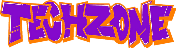 The TechZone Gaming Party Logo
