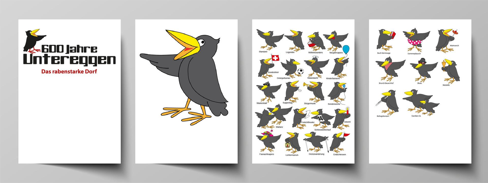 Ravy für Logo und für alle Events im Rahmen des Jubiläums