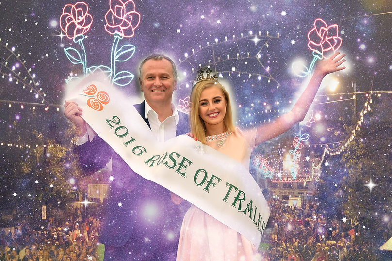 Rose of Tralee, Elysha Brennan, 2015 Rose of Tralee