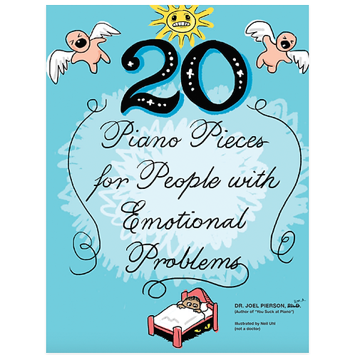 20 Piano Pieces for People with Emotional Problems (Digital PDF)