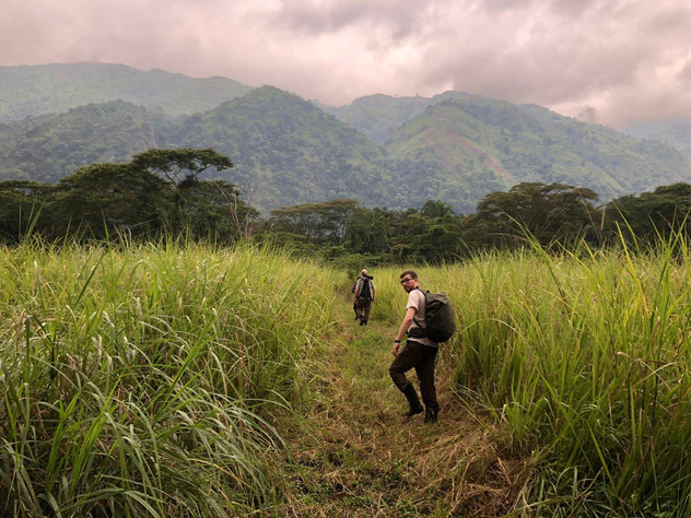 Walking in Semliki Forest National Park
