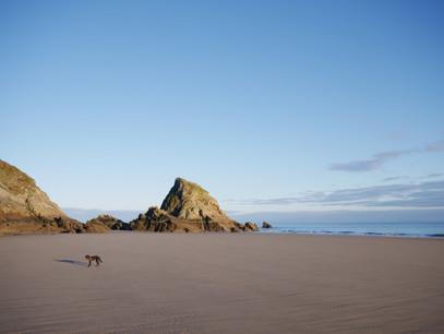 Monkstone Point Beach - Pembrokeshire