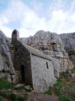 St Govan's Church - Pembrokeshire