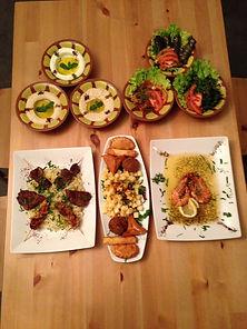 lebanese food, halal, mezze, hummus, interlaken, lalaly beirut