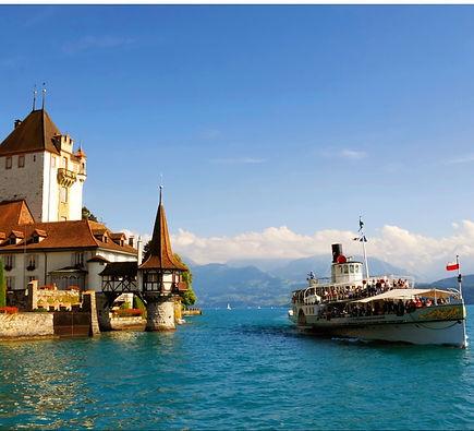 Lake Thun Castles, Switzerland