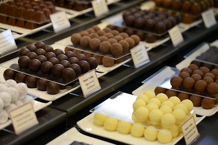 Handmade chocolates and chocolate show Interlaken