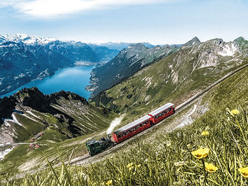 Brienzer Rothornbahn steam train