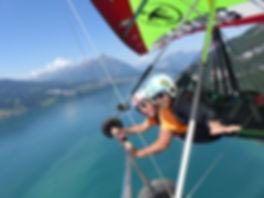 hang gliding interlaken