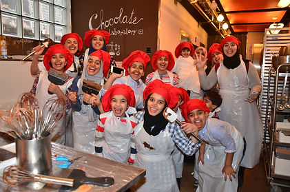 Funky Chocolate club chocolate making workshops and sweet gifts