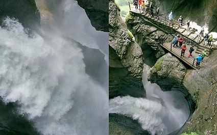Trummelbach waterfalls شلالات تريملبخ