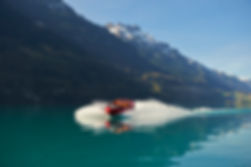 Jetboat Interlaken on Lake Brienz