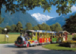 Sightseeing by train in Interlaken