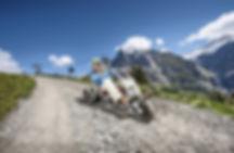 First Mountain Cart rides Grindelwald