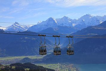 Niederhorn Mountain, Interlaken, Beatenberg